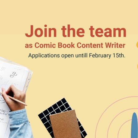 volunteer comic book