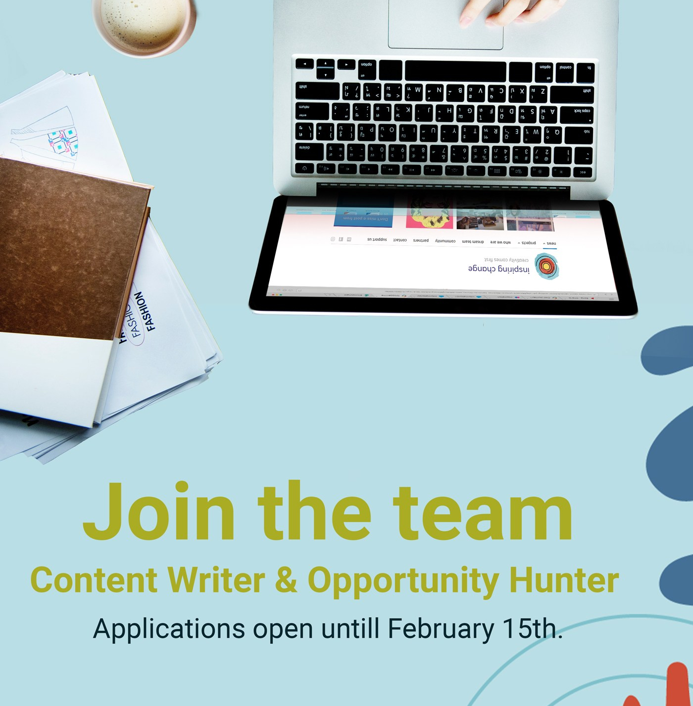 volunteer content writer